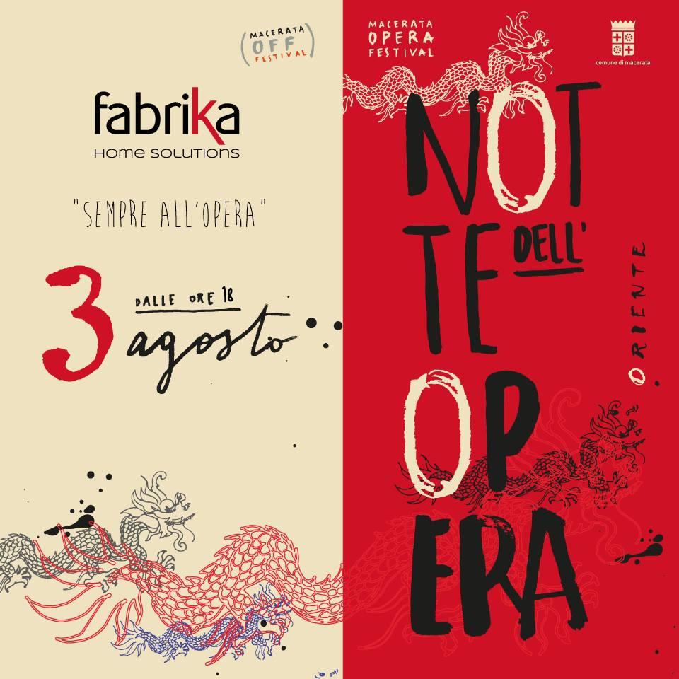 Fabrika alla Notte dell'Opera 2017 con CNA Macerata